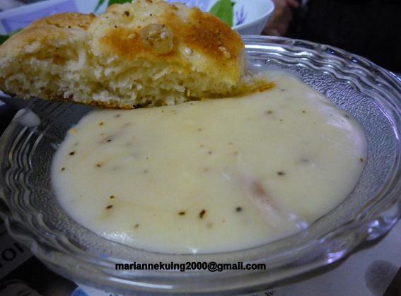 Cream of chicken soup photo 3
