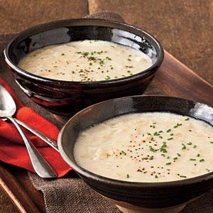 Cream of onion soup photo 2