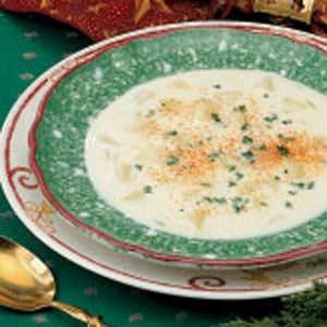 Cream of potato soup photo 2