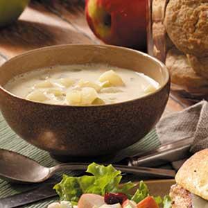 Cream of potato soup photo 3