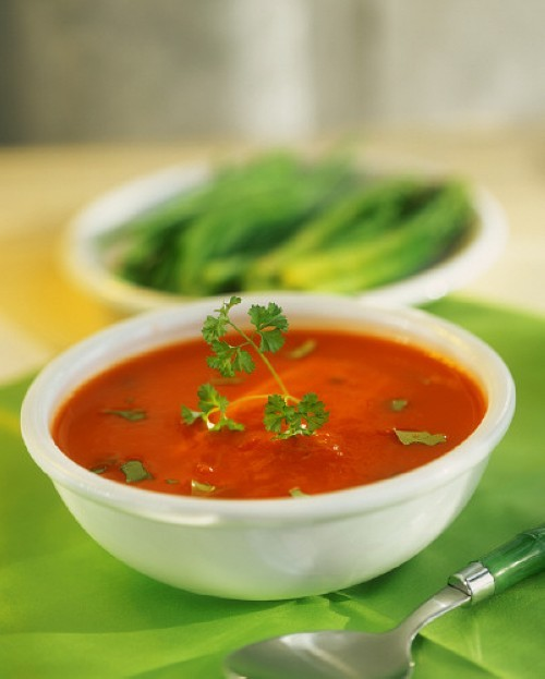 Cream of tomato soup photo 2