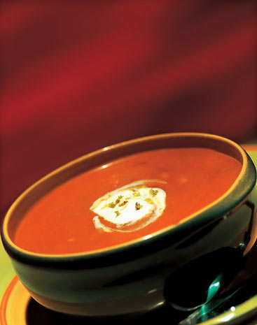 Cream of tomato soup photo 3