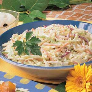 Creamy coleslaw photo 1