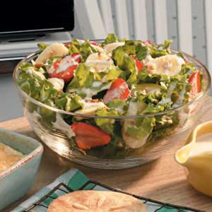 Creamy lettuce salad photo 3