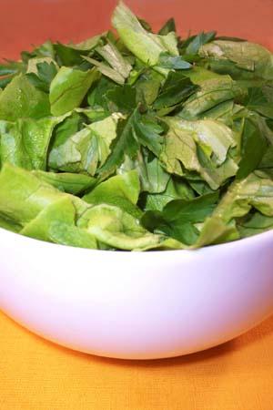 Creamy lettuce salad photo 2