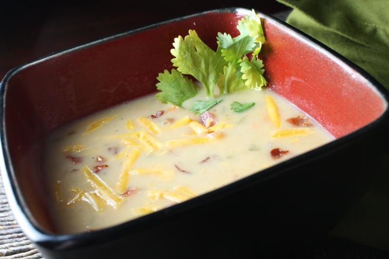 Creamy potato soup photo 2