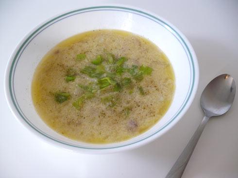 Creamy potato soup photo 1