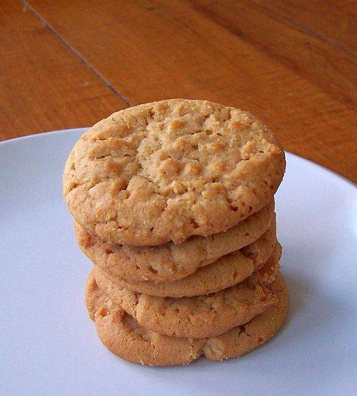 Crisscross peanut butter cookies photo 1