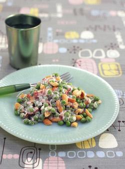 Crunchy pea salad photo 3