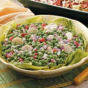 Crunchy pea salad photo 1