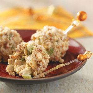Curried chicken balls photo 1