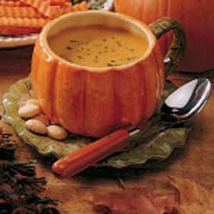 Curried pumpkin soup photo 2