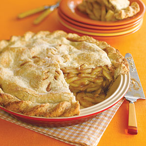 Deep-dish apple pie photo 1