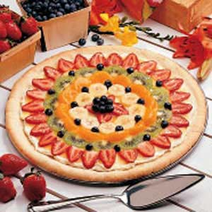 Dessert pizza photo 3