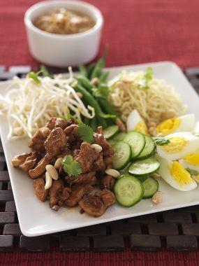 Exotic chicken salad photo 3