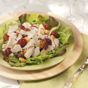 Exotic chicken salad photo 1
