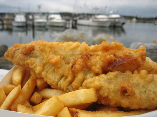 Fish and chips photo 3