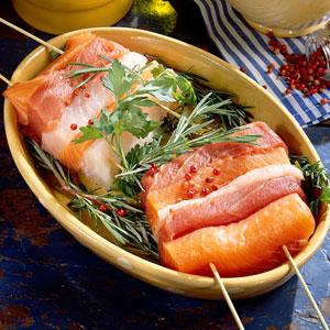 Fish kabobs photo 1