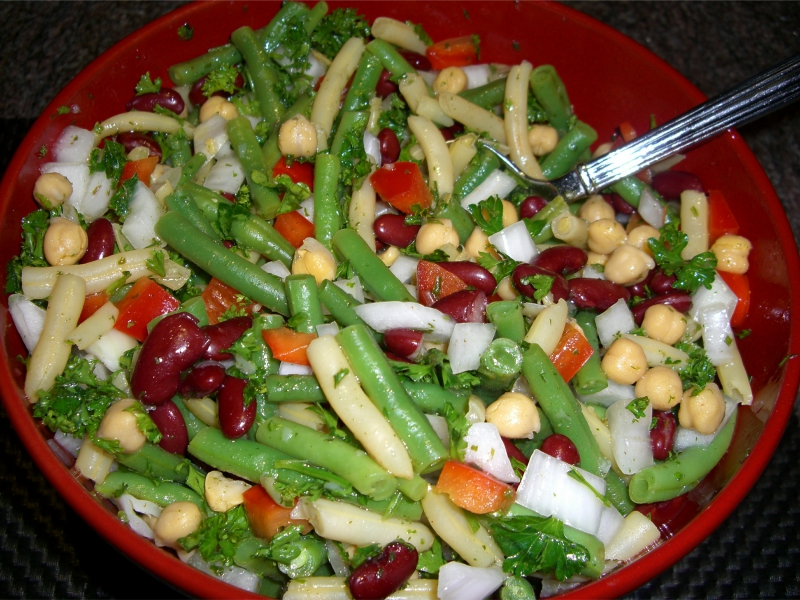 Four bean salad photo 1