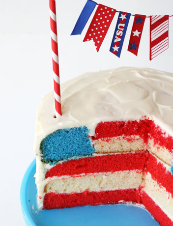 Fourth of july cake photo 2