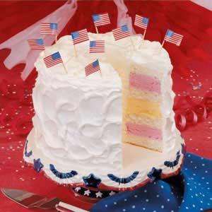 Fourth of july cake photo 3