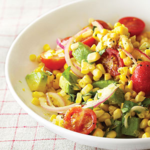Fresh corn salad photo 3