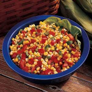 Fresh corn salad photo 2
