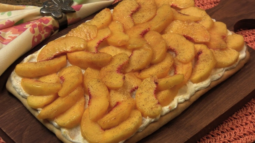 Fresh peach sauce photo 1