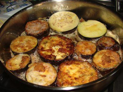 Fried eggplant photo 1