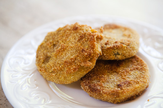 Fried green tomatoes photo 1
