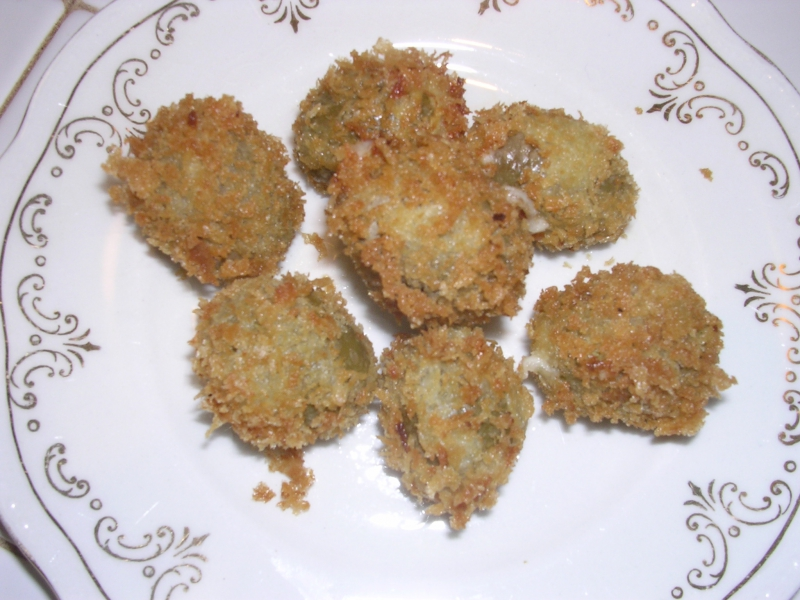 Fried olives photo 1