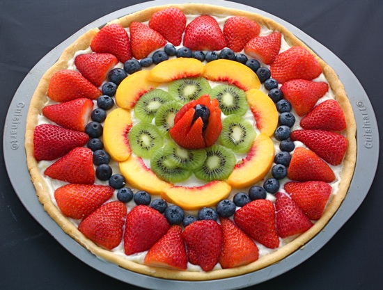Fruit pizza photo 2