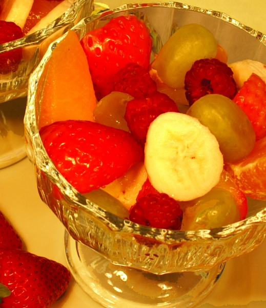 Fruit salad or dessert photo 3