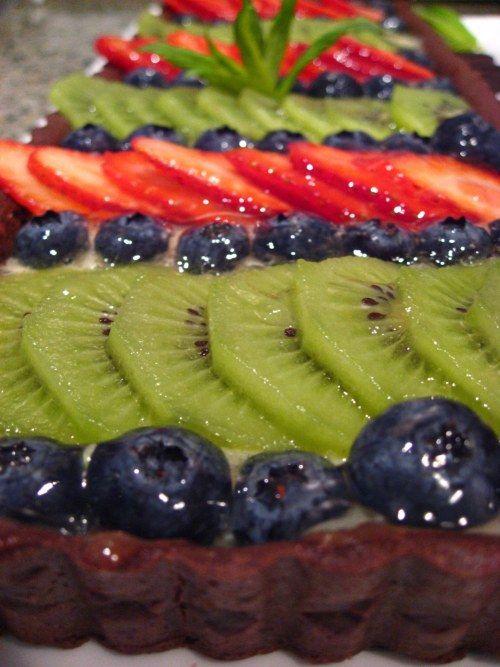 Fruit tart photo 1