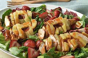 Fruity chicken salad photo 1