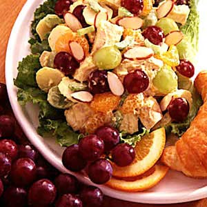 Fruity chicken salad photo 2
