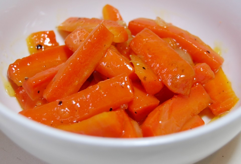 Glazed carrots photo 1