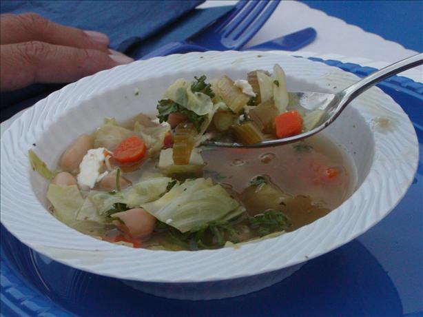 Greek bean soup photo 2