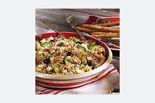 Greek pasta salad photo 2
