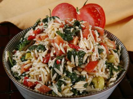 Greek pasta salad photo 1
