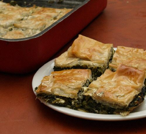 Greek spinach pie photo 1