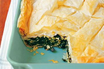 Greek spinach pie photo 3