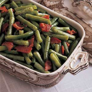 Green beans with bacon photo 1