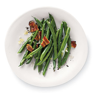 Green beans with bacon photo 3