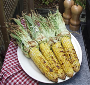 Grilled corn photo 3
