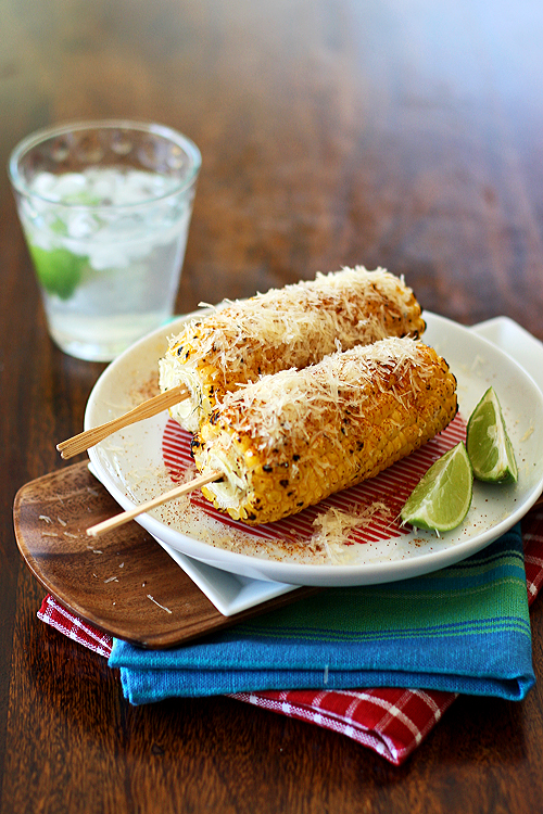 Grilled corn photo 1