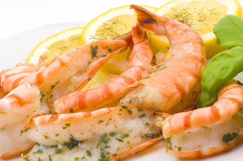 Grilled garlic shrimp photo 1