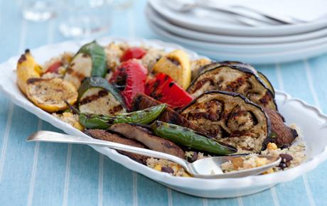 Grilled summer vegetables photo 3