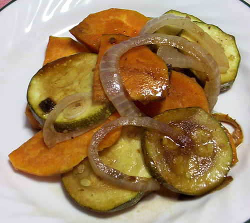 Grilled vegetables photo 1