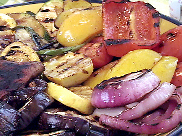 Grilled vegetables photo 3